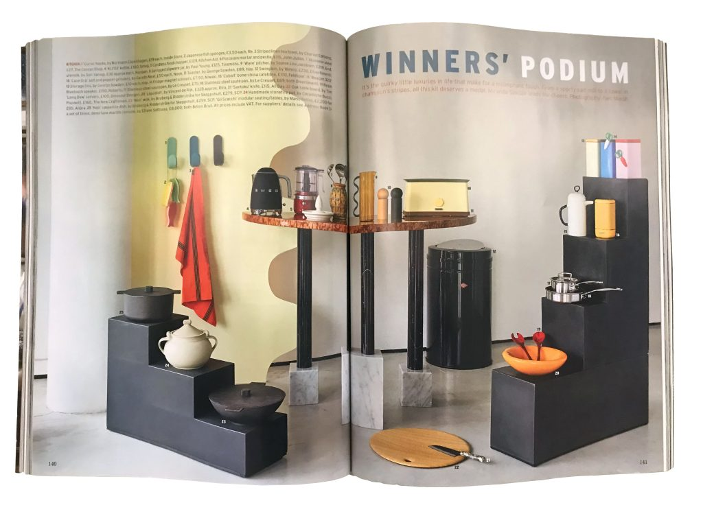 allora featured in the World of Interiors