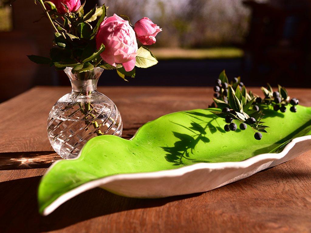 Handmade Murano glass bowl
