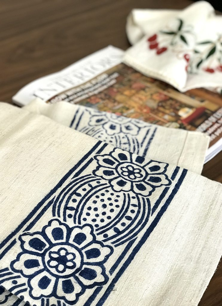 Featured: Our Linen Collection - The World of Interiors Magazine