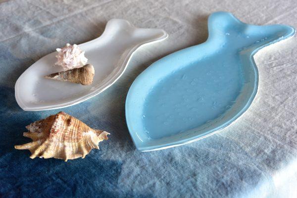 Murano Glass fish tableware