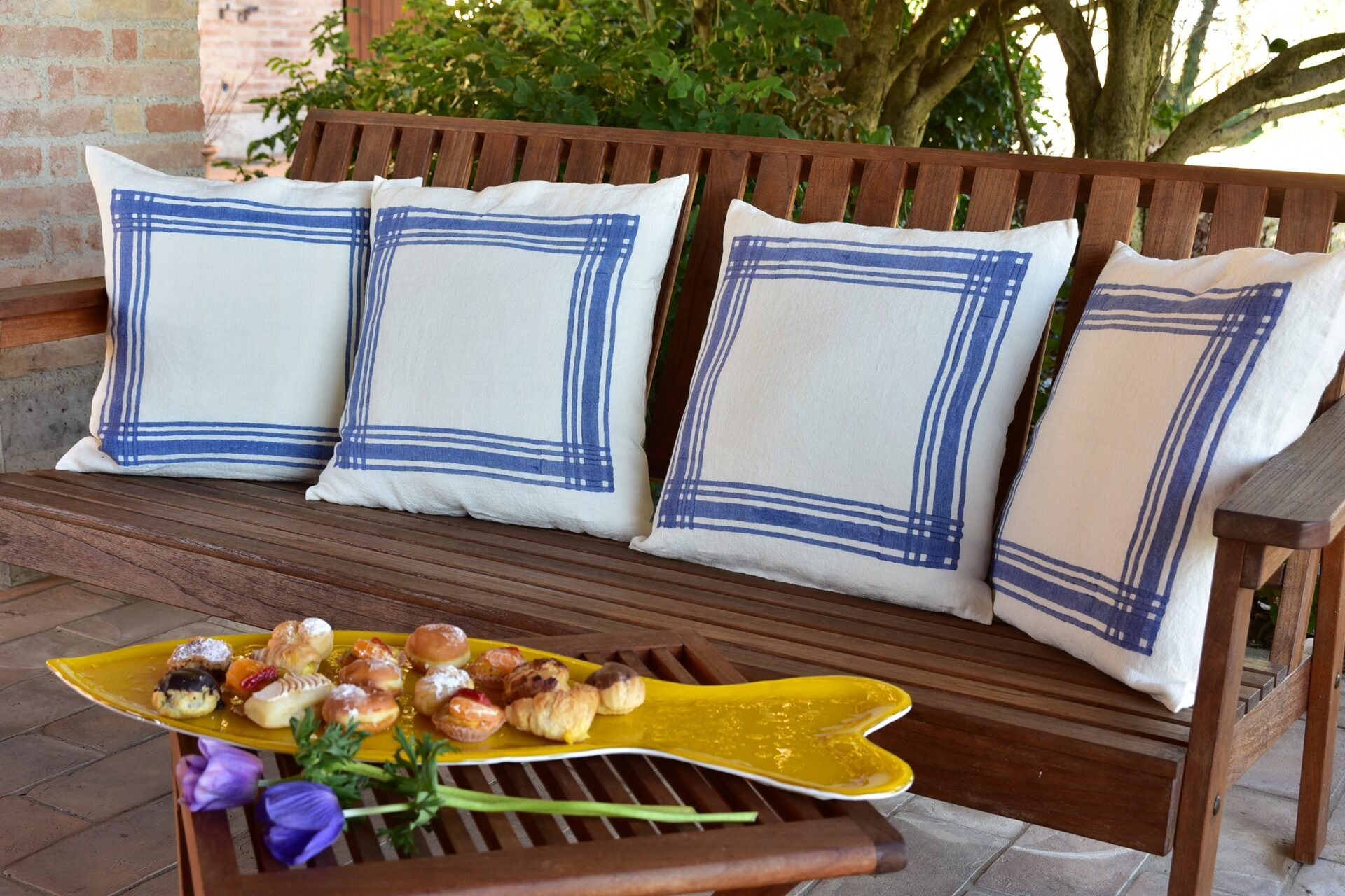 Murano glasso fish tableware