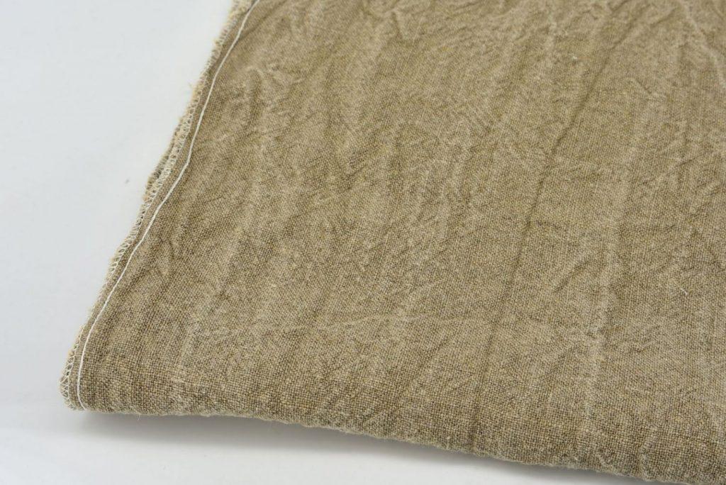 Thick hemp linen - close up shot of threads